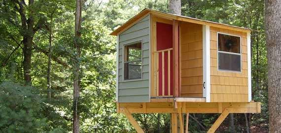 Self build treehouse and deck plans for beginners try me for Tree houses plans and designs