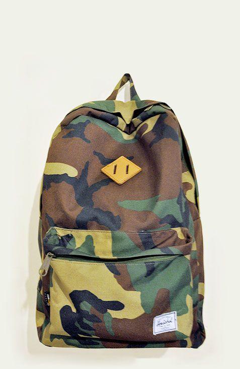 Herschel Supply Co. camo backpack