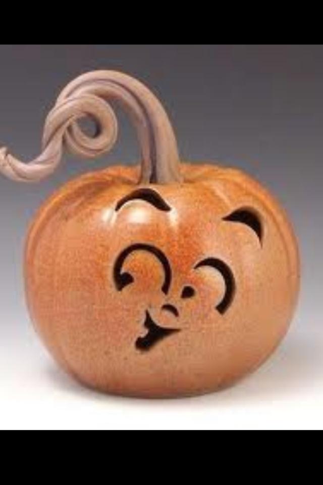 Cute pumpkin face