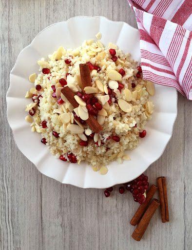 Scheherazade's Cauliflower with Pomegranate, Almonds and ...