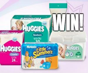 #Win A 6 Month Supply Of #Huggies Products! *Competition closes Aug 31st* #contest #baby #hygiene #care