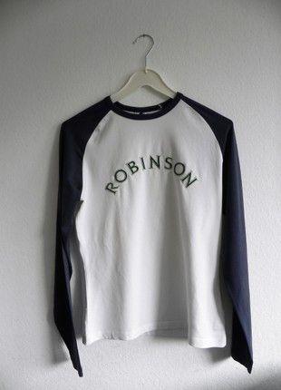 Sehr schönes Shirt in dunkelblau/weiß