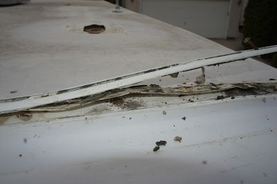 1000 Ideas About Rv Roof Repair On Pinterest Travel