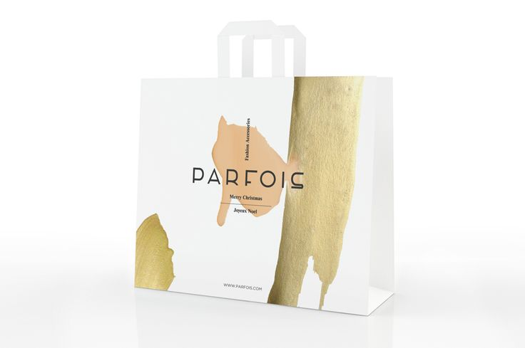 Bag designed by Play and Type for fashion accessory brand Parfois.