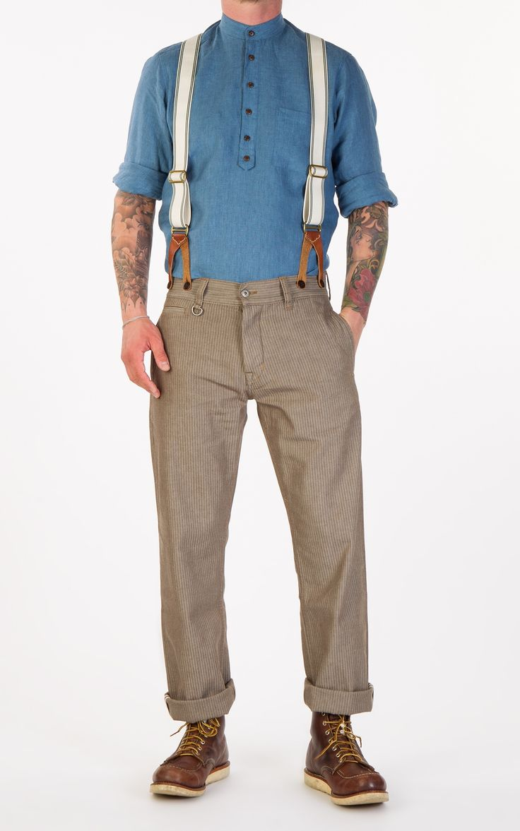 Pike Brothers 1942 Hunting Pant Herringbone Twill Brown