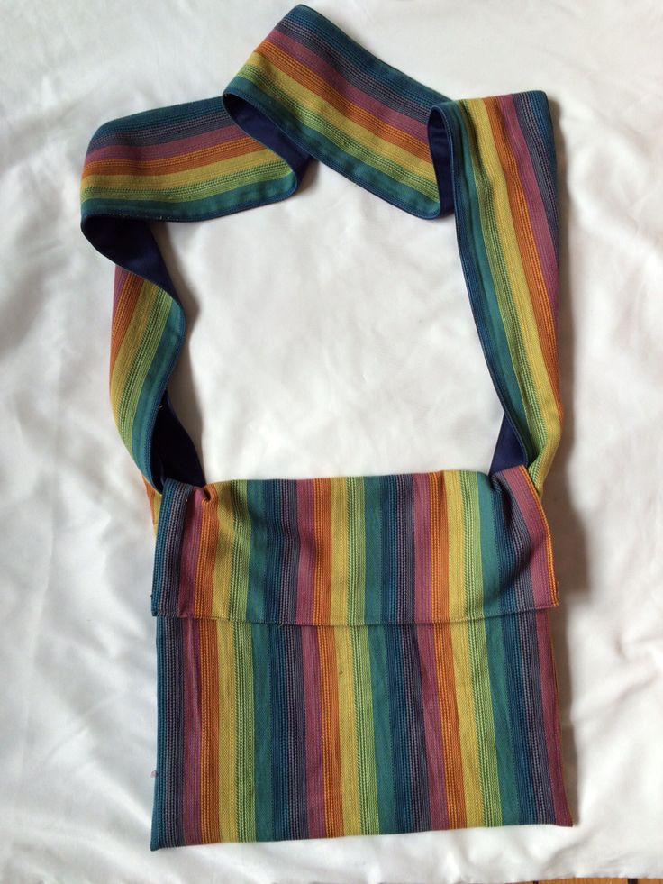 Lenny lamb rainbows Babywearing bag