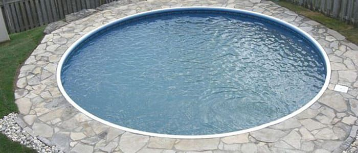 Our Round Swimming Pool Kits are perfect for replacing a per-existing round above ground swimming pool. Call Pool Warehouse about in-ground pools today!