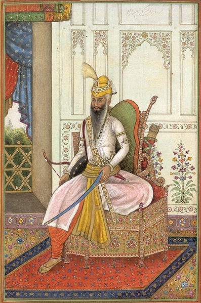 Maharaja Ranjit Singh (13 November 1780 – 27 June 1839) was the founder of the Sikh Empire, which came to power in the Indian subcontinent in the early half of the 19th century. The empire, based in the Punjab region, existed from 1799 to 1849.