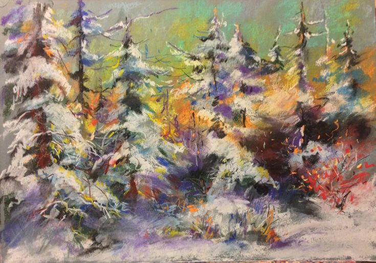 Buy Winter evening, Pastel drawing by Konrad Biro on Artfinder. Discover thousands of other original paintings, prints, sculptures and photography from independent artists.