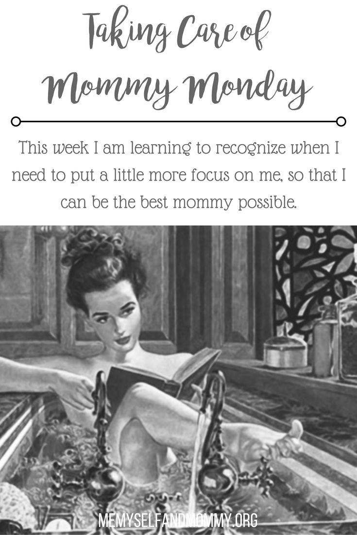 Learning to put your self first and taking care of mommy is so hard, especially with busy lives. But, I am learning to recognize when I need to put a little more focuse on me, so that I can be the best mommy possible.
