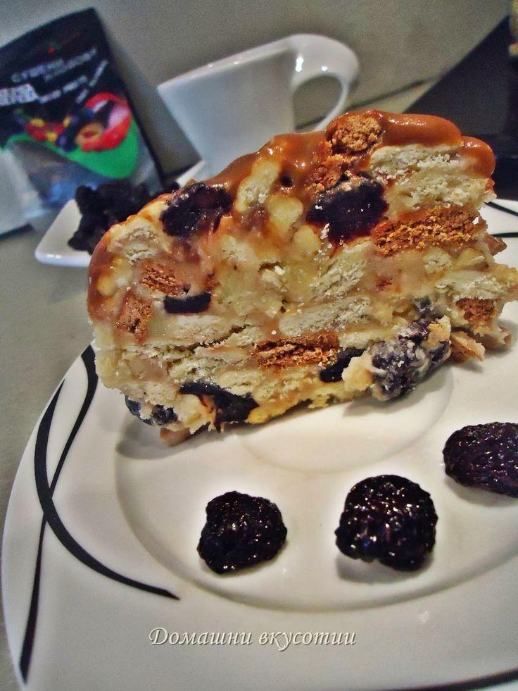 Кралска бисквитена торта