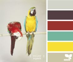 color palette with yellow, grey, and red - Google Search