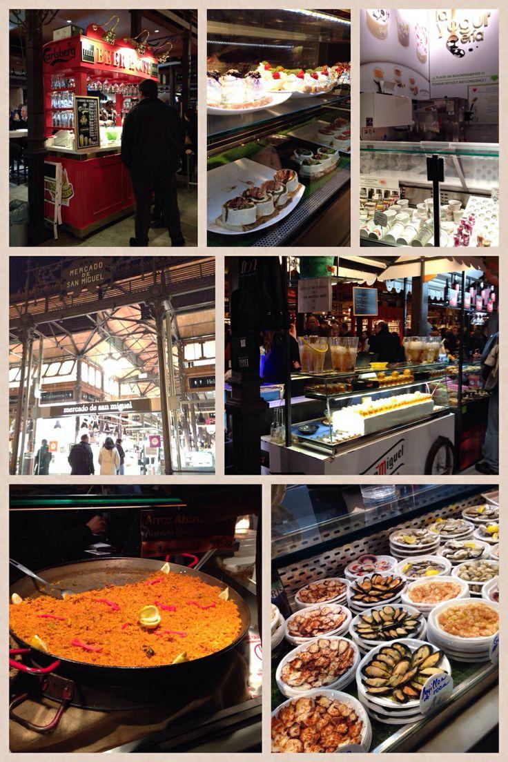 Madrid street food #tapas