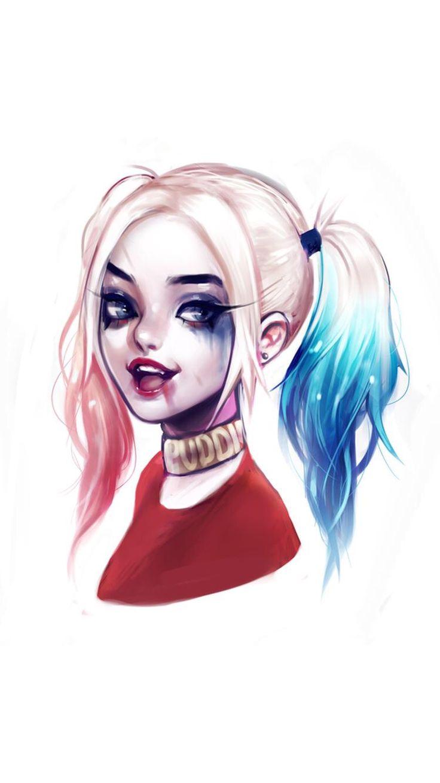 Cartoon Cute Little Girl Wallpaper Pin On Harley Quinn
