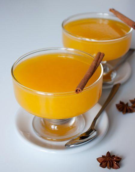Это замечательное желе объединяет в себе освежающие цитрусы и согревающие специи - корицу и бадьян. Это отличное лакомство для зимнего сезона, когда можно купить самые вкусные апельсины. Если вам лень давить свежий сок из апельсинов, вы можете использовать покупной сок из пакетов, но без сахара в составе.Ориентировочное время приготовления: 30 минут + время на застываниеИнгредиенты [...]