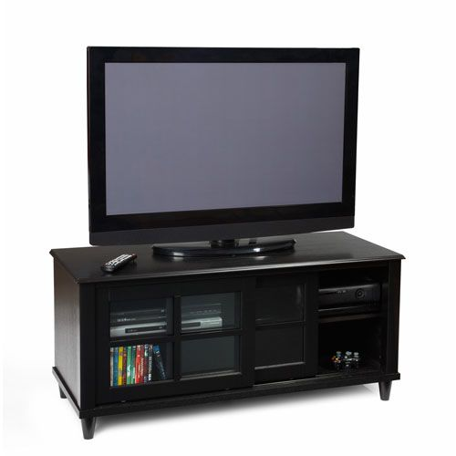French Country Black TV Cabinet