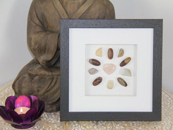 Crystal Grid FERTILITY Rose Quartz Moonstone by GoddessWellness