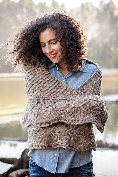 Absent Friends Shawl