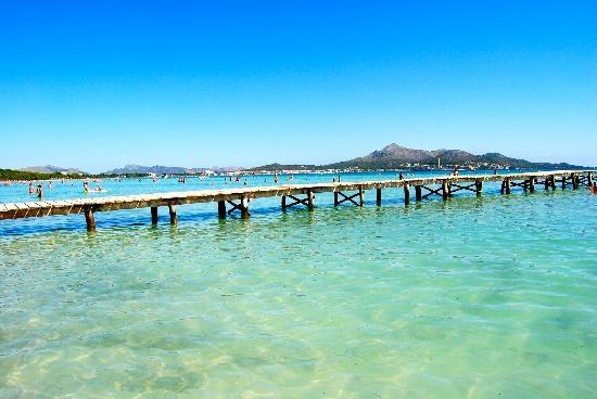 Playa de Muro beach Mallorca
