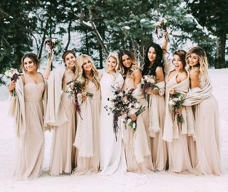 Best 25+ Winter bridesmaid dresses ideas on Pinterest