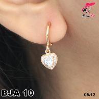 Earrings Korea Gold love Permata JA 10  Fast Respon  Pin BB : 5F81C0E7  No Hp : 081223335084    Promo Merah Meriah Desember :  ⦁ box gelang min order 200rb  ⦁ perhiasan cincin order 400rb  ⦁ cincin couple min order 600rb
