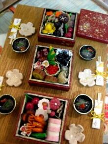 和風ドールハウス「日本のお正月」完成~♪ 今年最後の更新記事追加♪ バンビーニの部屋