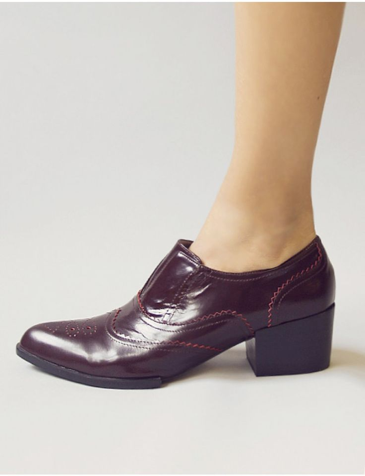 Pointy burgundy loafers - senso shoes - senso loafers - $119