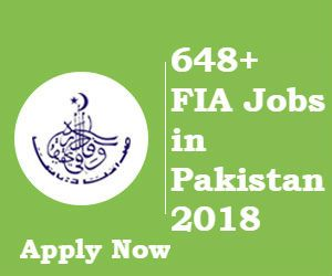 FIA Jobs: Federal Government Agency 2018 For Assistant, Constables, Sub-Inspector, ASI, LDC/UDC & Other Staff