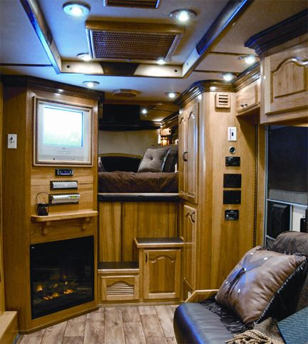 25+ best ideas about Horse trailers on Pinterest | Fold out couch, Sofa bed double and Horse barns