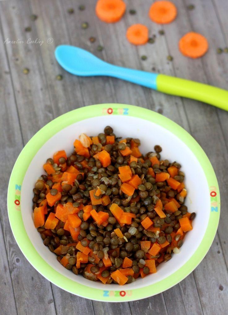 Lentilles, carotte et thym (pour bébé dès 6mois)