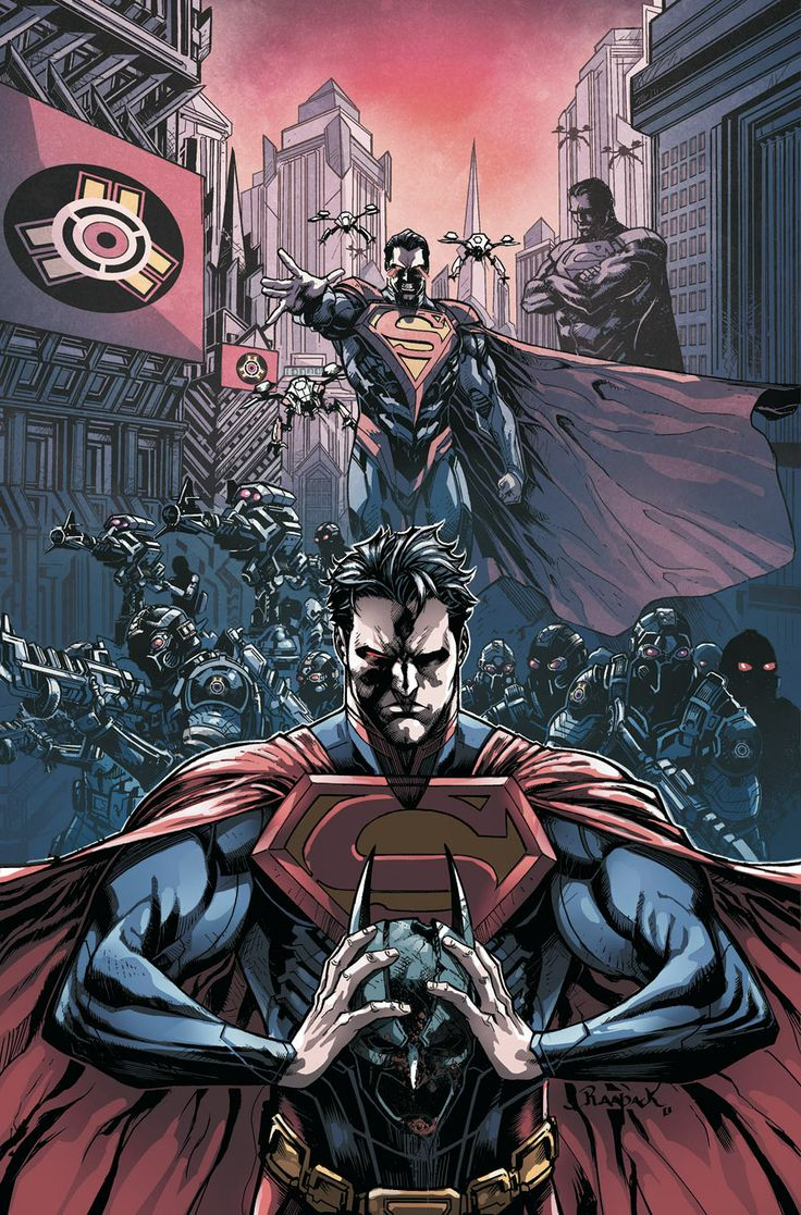 INJUSTICE YEAR TWO #1 - Written by TOM TAYLOR / Art by BRUNO REDONDO / Cover by JHEREMY RAAPACK | Comic Book Resources
