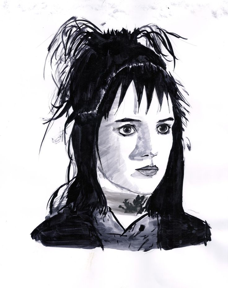 lydia deetz-beetlejuice #beetlejuice #winona #art #artist #artfair #artgallery #black #bnw #blackandwhite #color #drawing #illustration #ink  #inspiration #mixedmediaart #paint ##portrait #portraits #portraiture #sketch #sketchbook #artsy  #watercolor #artoftheday  #artgallery