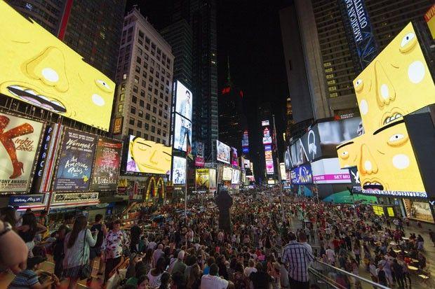 Uma das mais importantes praças do mundo recebe uma intervenção artística brasileira: OSGEMEOS estão - virtualmente - na Times Square, em NY! Saiba mais clicando na imagem.