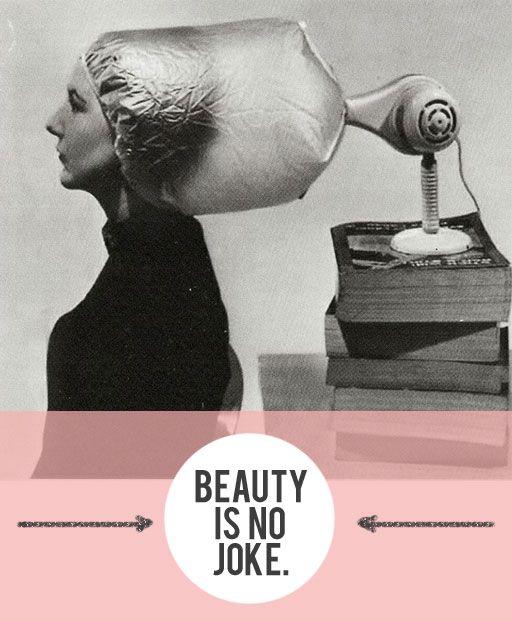 Beauty is No Joke