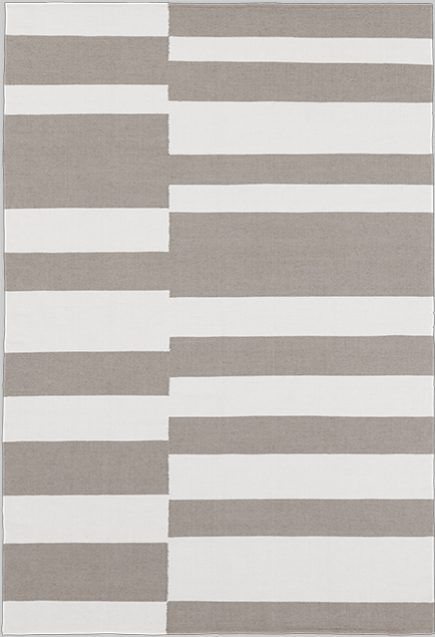Layered's Stripe Sand Haze Rug. The balance between unique lines and shapes gives a striking look. Stripe combines an eye-catching pattern yet a simplicity of forms. Free delivery. No customs fees within EU & Norway. Estimated delivery within 2 weeks. See more at: http://layeredinterior.com/product/stripe/