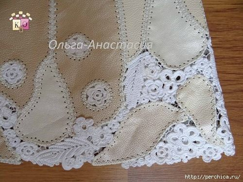 Идеи и схемы для комбинированного вязания с тканью...<3 Deniz <3