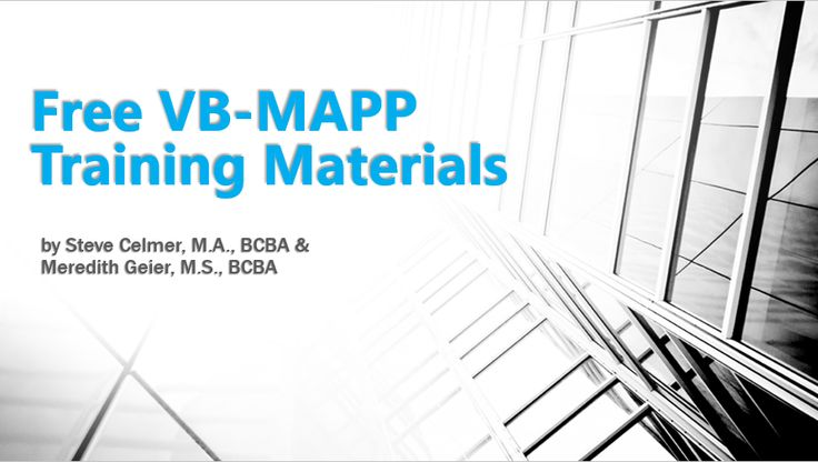 Declarative image for vb mapp printable materials