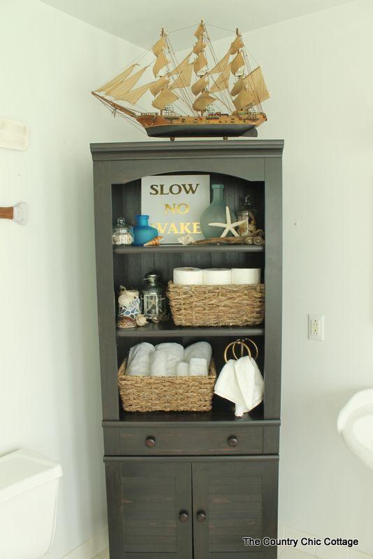 17 Ideas About Nautical Theme Bathroom On Pinterest
