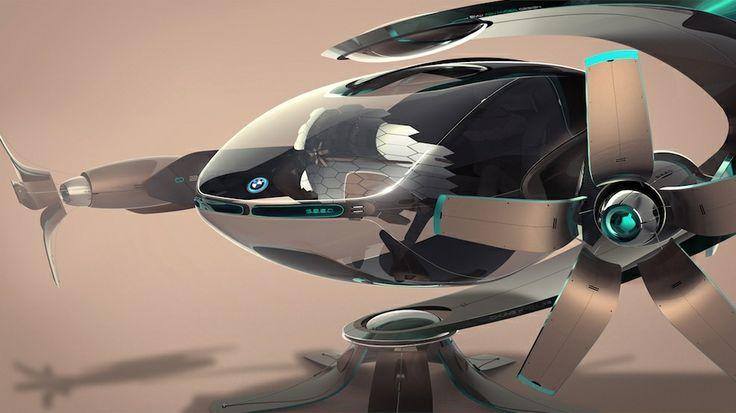 Futuristic Vehicle, BMW Group DesignworksUSA