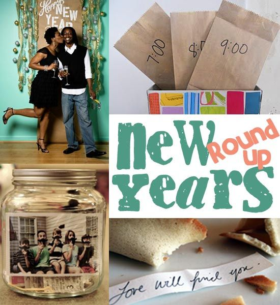 A round-up of fun New Year's ideas!