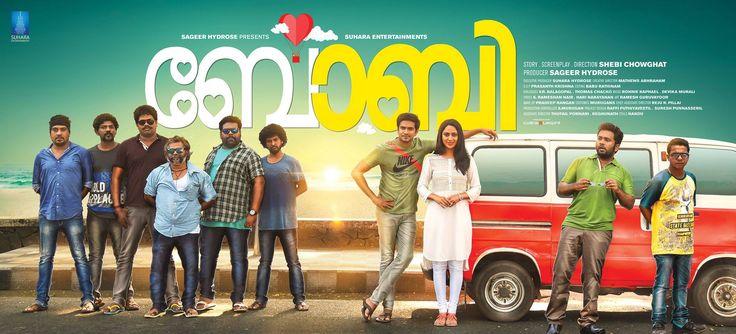 "Here is the First Look Poster of ""Bobby"" starring #Niranj, Miya George & Aju Varghese..."