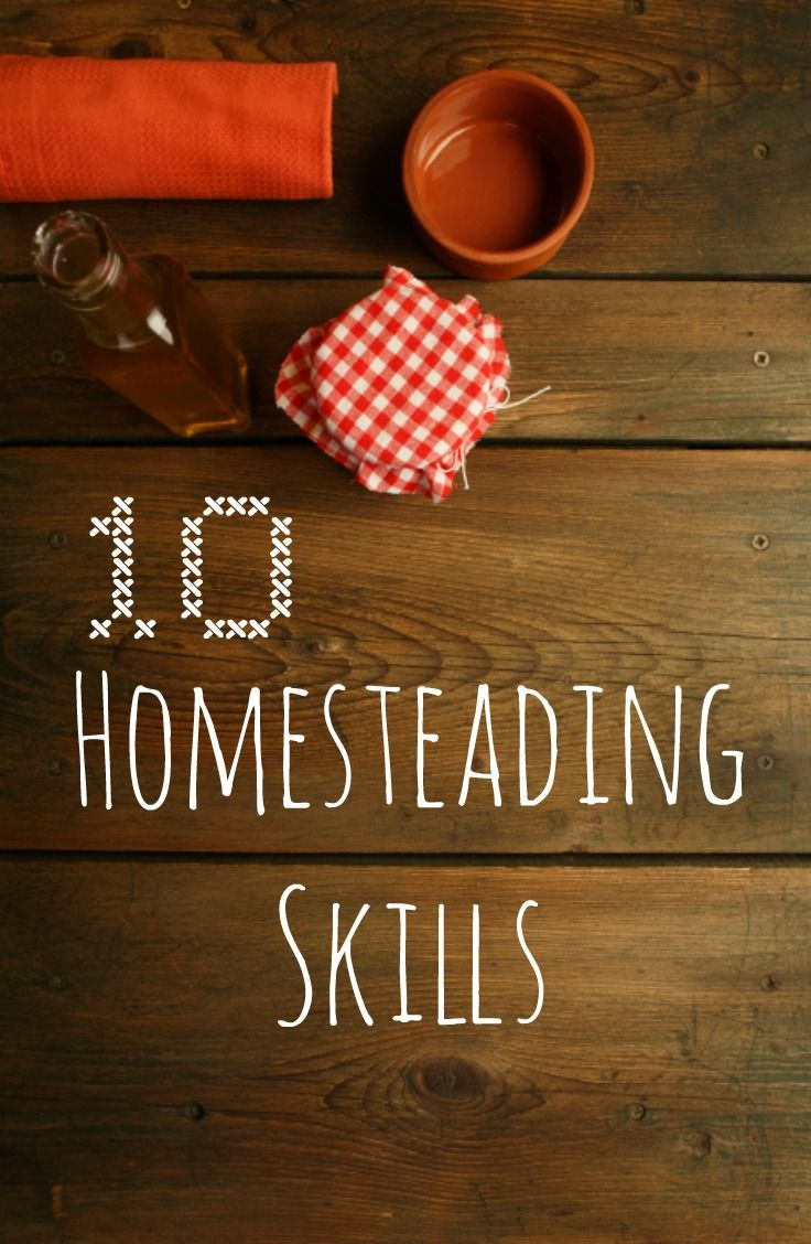 Self-sufficiency can be simple, cheap—and rewarding. These 10 homesteading skills can get you started.