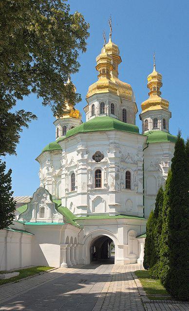 All Saints Gate Church, Kiev Pechersk Lavra, Ukraine