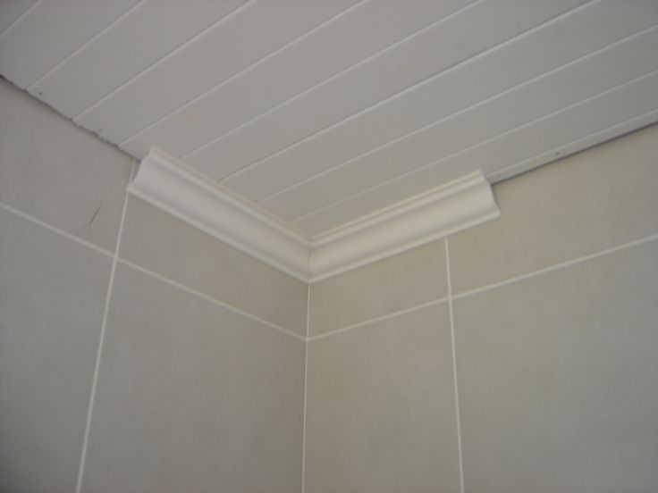 New Isoboard ceiling and decorative cornicing in a bathroom....perfect isolation.