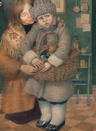 Martha Gennady Spirin (born 25 December 1948) Russian painter & children's book illustrator