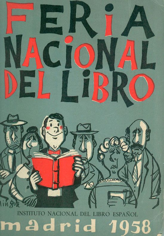 Feria del Libro de Madrid 1958: Jose Romero Escassi