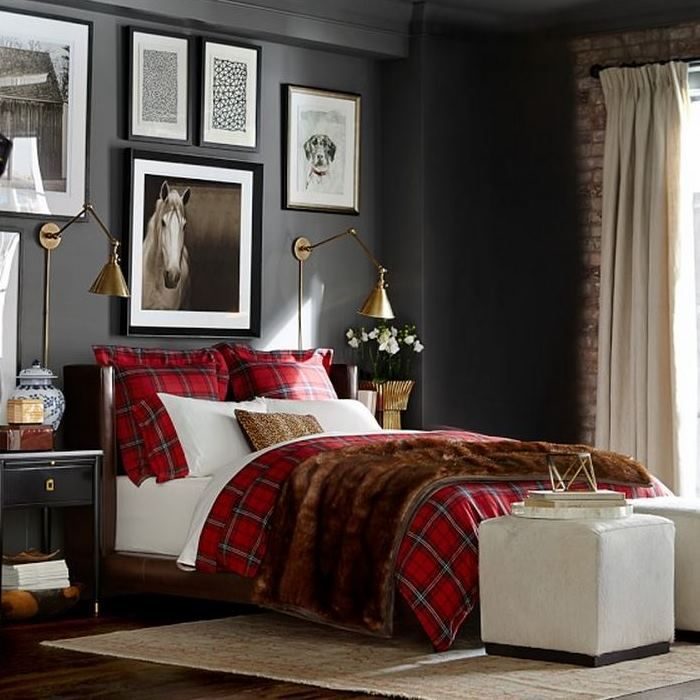 Create a Winter Retreat With Tartan Bedding