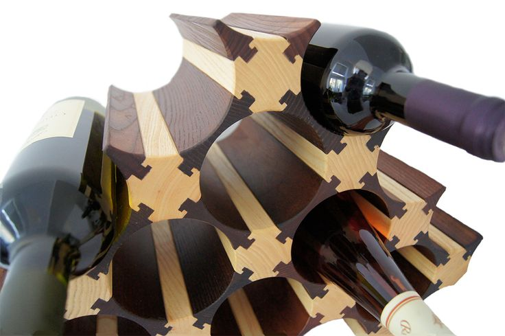 WOOD WINE RACKS & HOLDERS. Wooden Wine Bottle Rack. WOOD for WINE