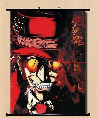 Home Decor Japanese Anime Wall poster Scroll Hellsing Alucard Cosplay Art 01 //Price: $US $27.80 & FREE Shipping //     #hoodie