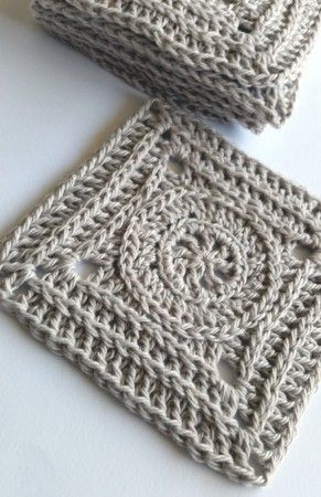 Spincushions: GREG Mystery CAL Part 4 - Ian. Free crochet square pattern by Shelley Husband.